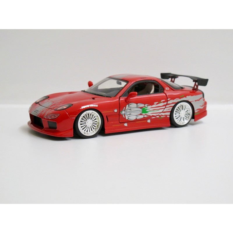 """Mazda RX-7 """"The Fast and the Furious"""" *1/24*"""