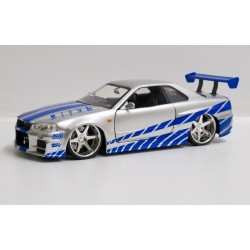 Nissan Skyline GT-R R34 2Fast2Furious *1/24*