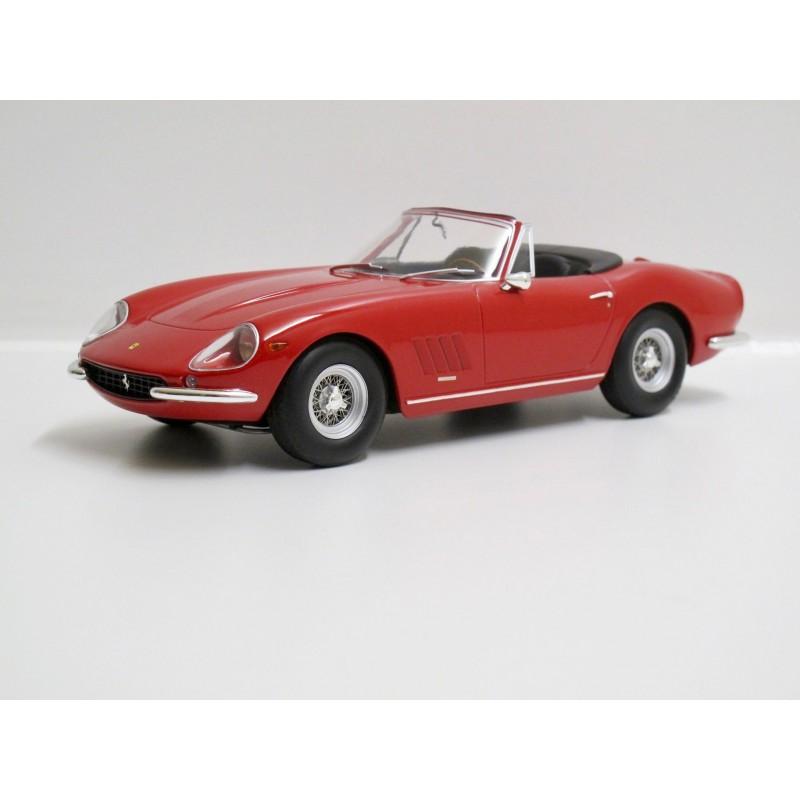 1//18 KK SCALE MODELS FERRARI 275 GTB//4 NART SPIDER 1967-180234R